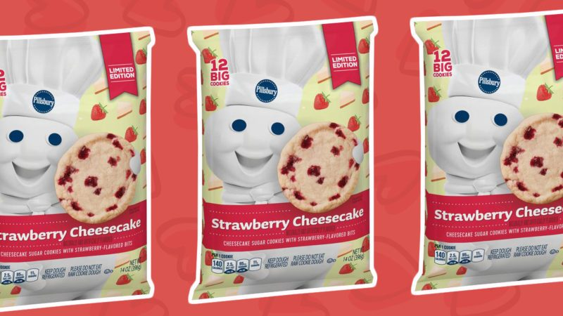 Pillsbury Strawberry Cheesecake Cookies Are Here Taste Of Home