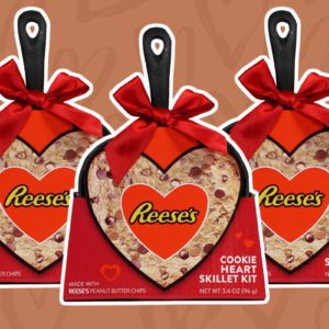 Reese's Heart-Shaped Cookie Kit Is Perfect for Two…or One!