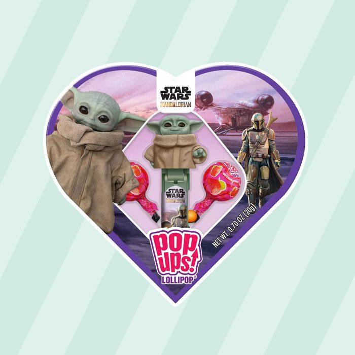 Star Wars Mandalorian Pop Ups Lollipop Heart Box