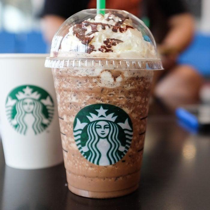 starbucks frappuccino blended beverages.