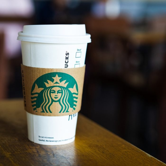 Starbucks paper cup