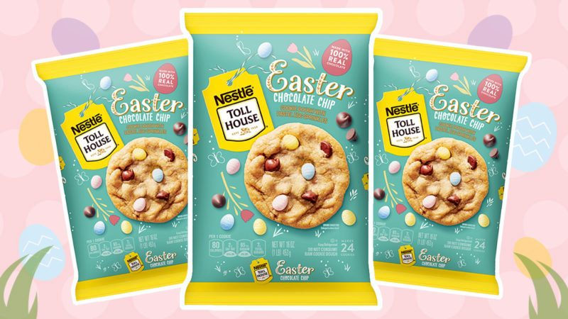 toll house easter cookie dough