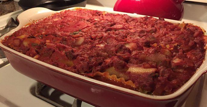 tony bennett's lasagna recipe