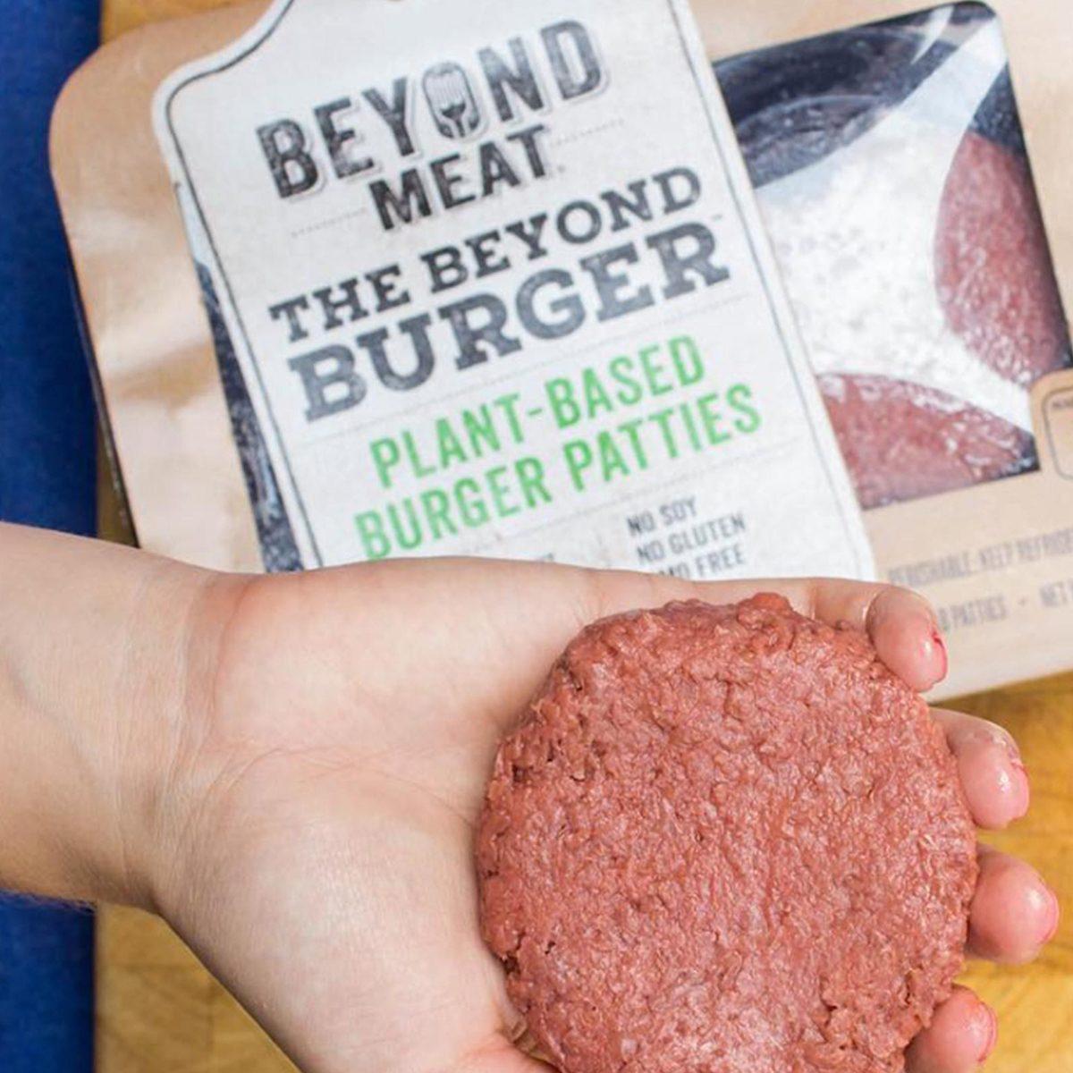 Beyond burger patty