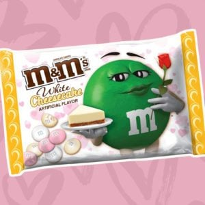 White Cheesecake M&M's Are Back for Valentine's Day
