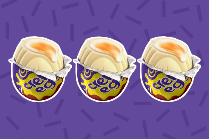 white chocolate cadbury creme egg