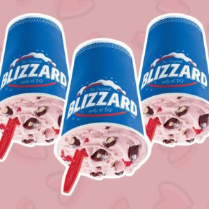 The Valentine's Day Blizzard Is BACK at Dairy Queen Right Now
