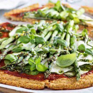 How to Make Cauliflower Pizza Crust