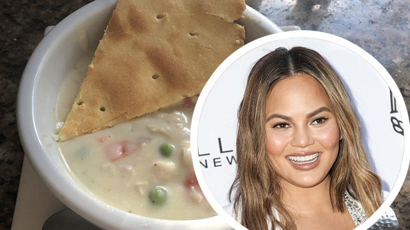 How To Make Chrissy Teigen S Chicken Pot Pie Soup Taste Of Home