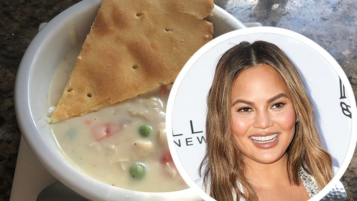 Mandatory Credit: Photo by Chelsea Lauren/REX/Shutterstock (9570542gf) Chrissy Teigen The Daily Front Row Fashion Awards, Arrivals, Los Angeles, USA - 08 Apr 2018