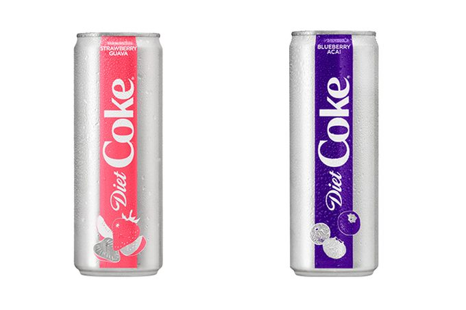 New Diet Coke flavors