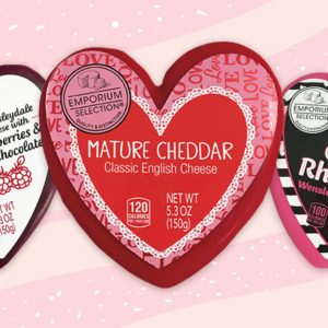 Aldi's Cute Cheese Assortment for Valentine's Day Has Us Head Over Heels