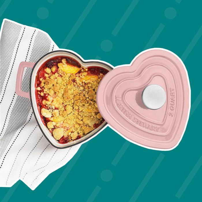 Martha Stewart Heart-Shaped Casserole Dish