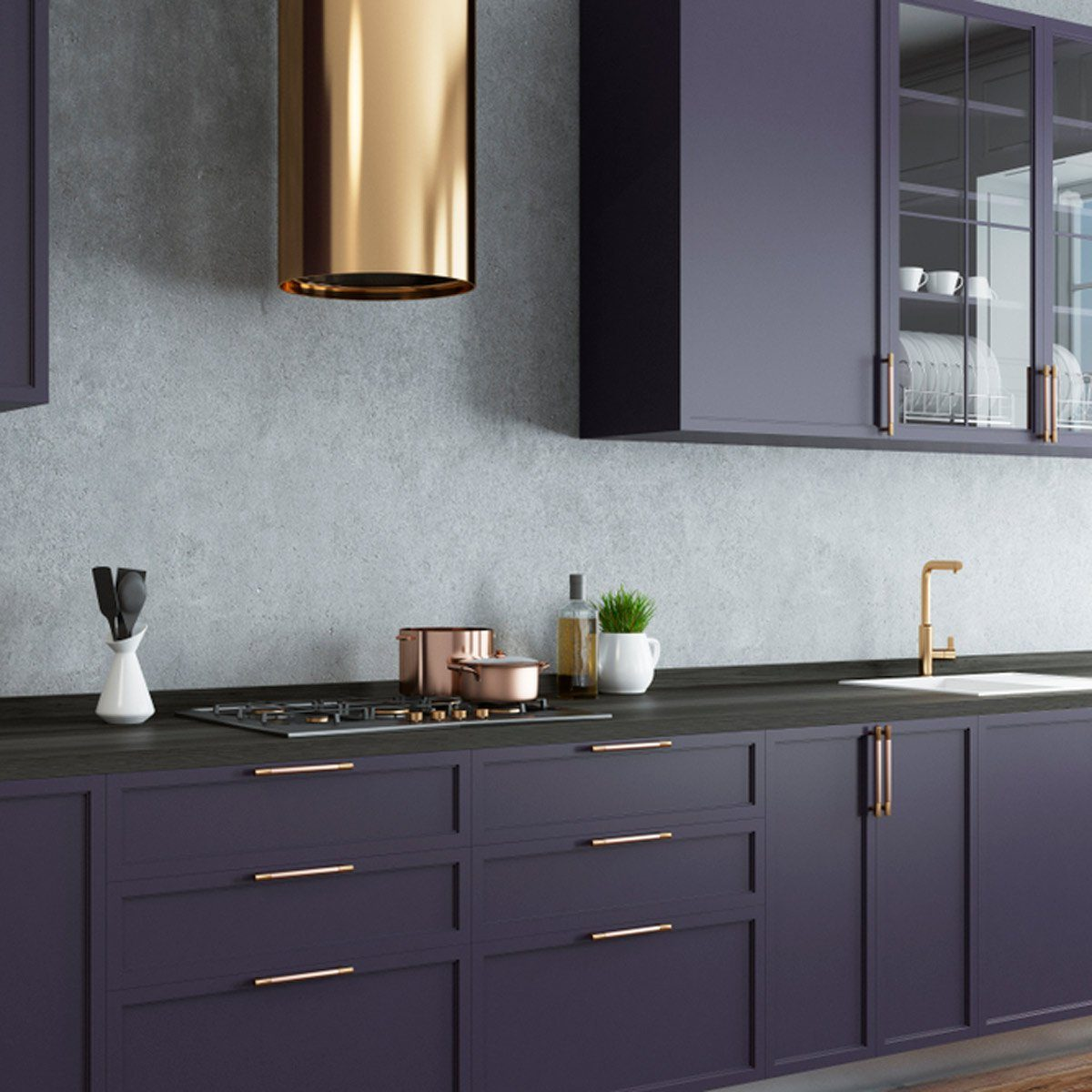 Kitchen Cabinets in Color