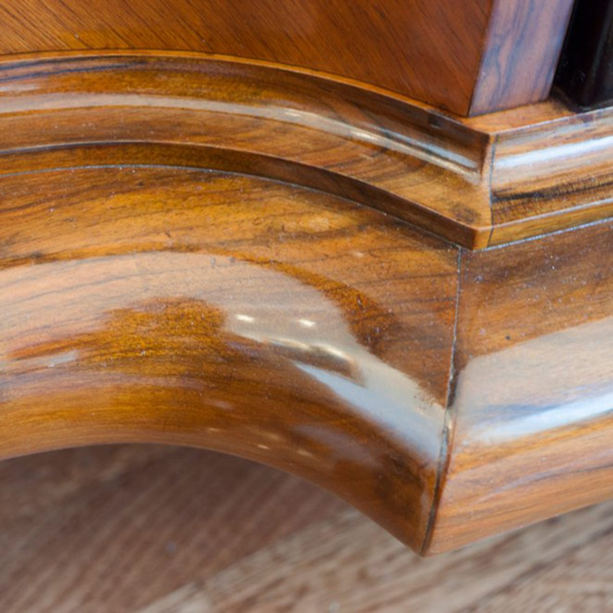 Waxed furniture