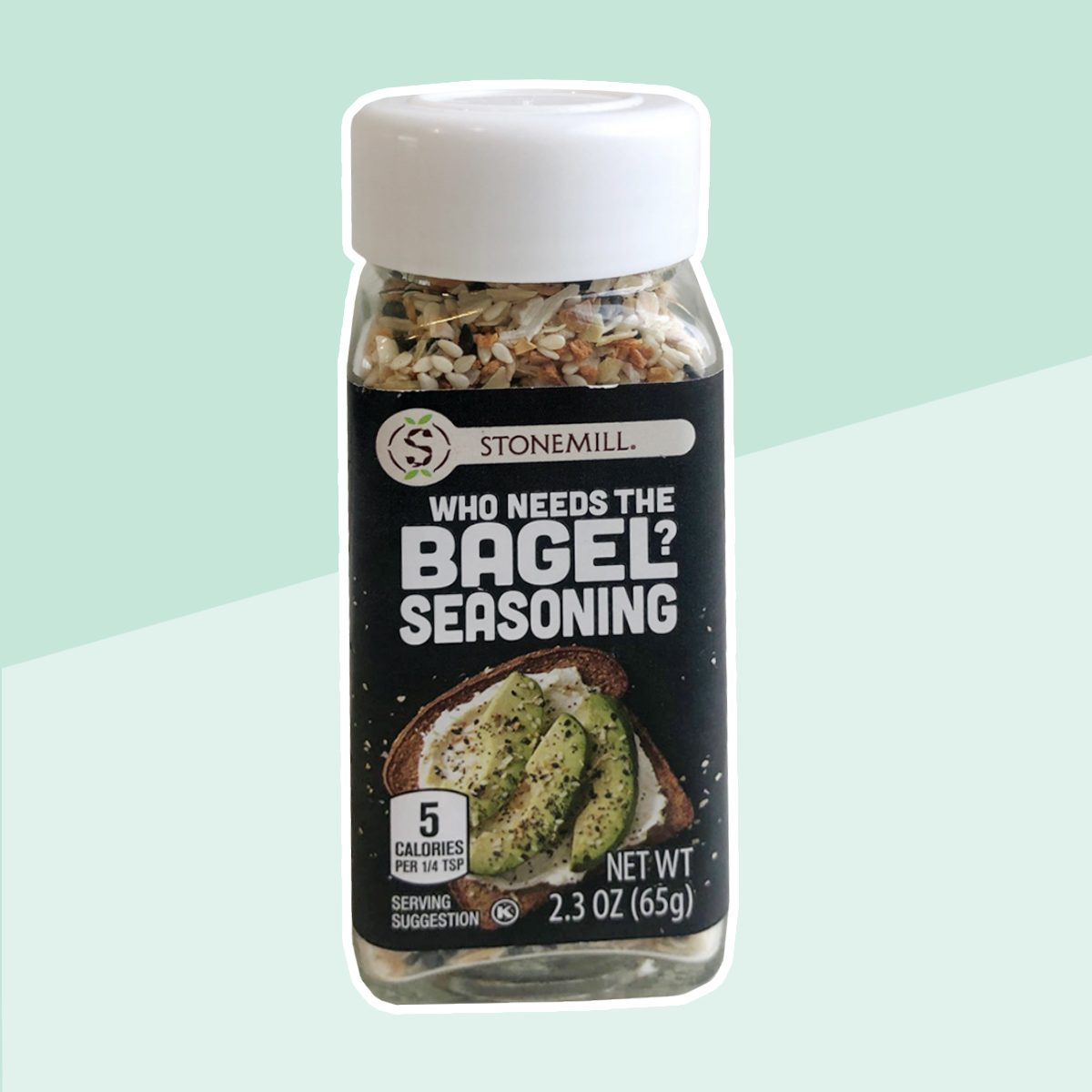 who needs the bagel seasoning stonemill