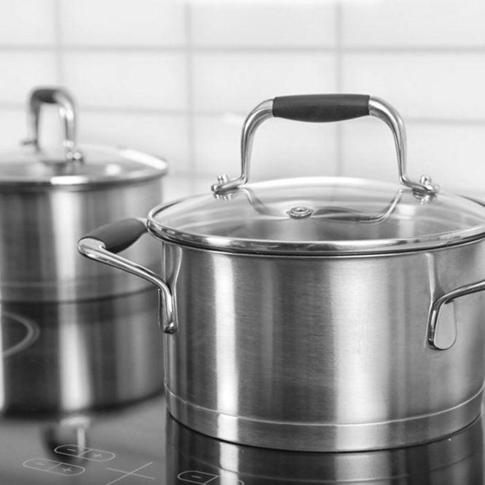 Aluminum pots