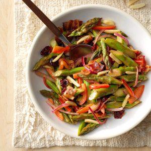 Balsamic Asparagus Salad