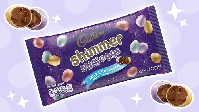 Cadbury Shimmer Eggs Will Be the Most Stylish Addition to Your Easter Basket