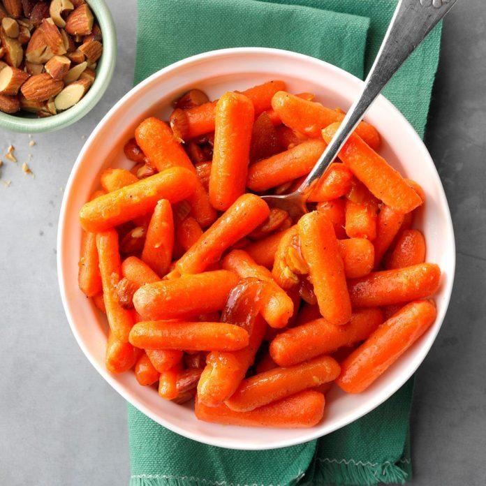 Citrus Peach Carrots