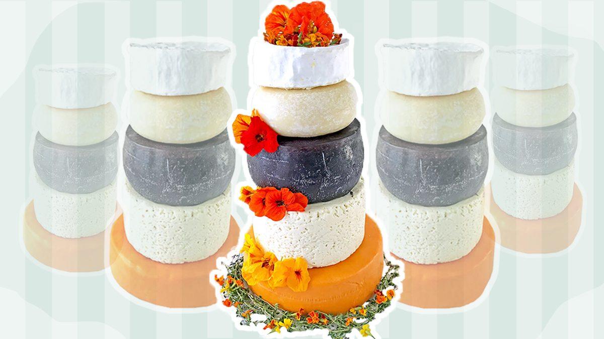 Costco's Cheese Wedding Cake