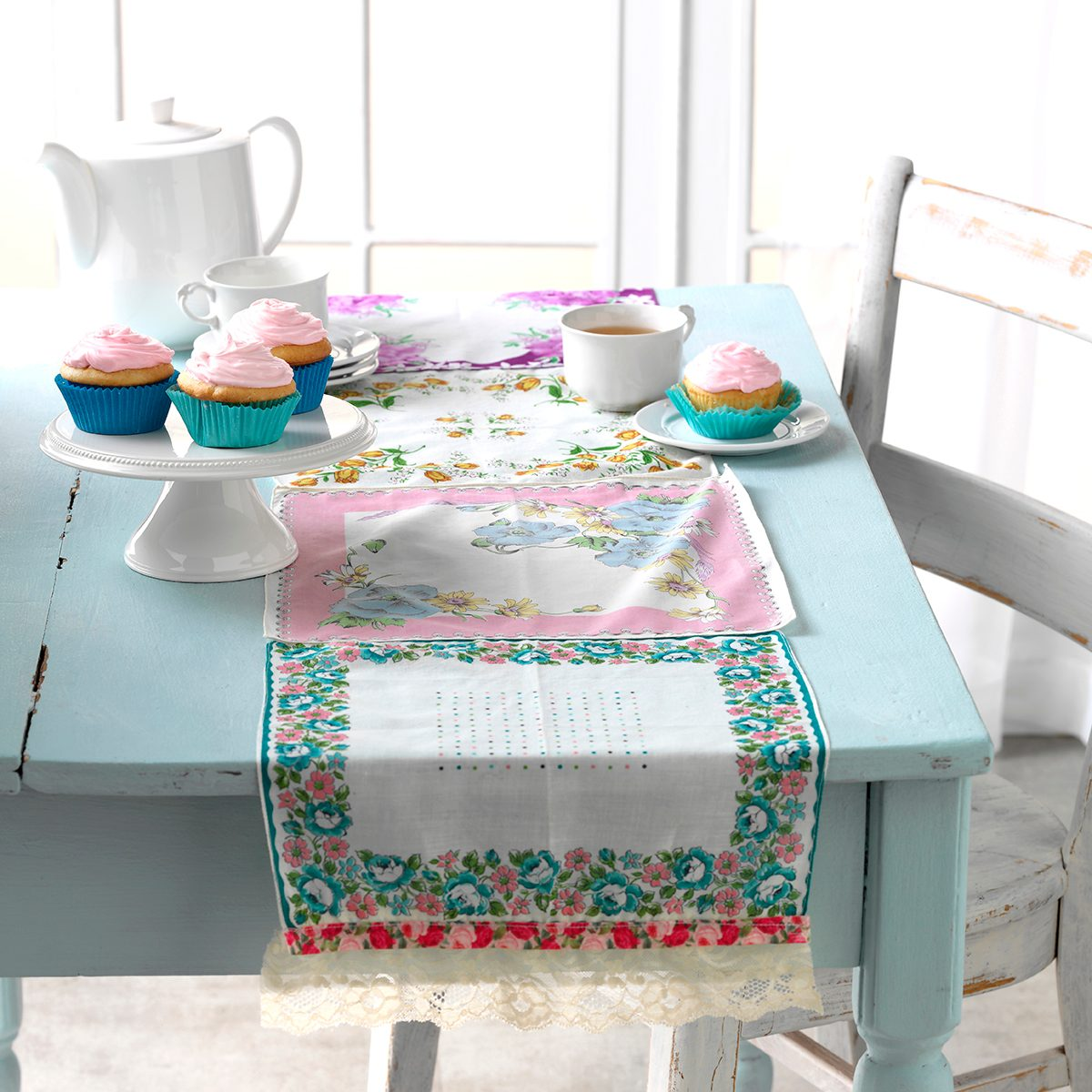 handkerchief table setting