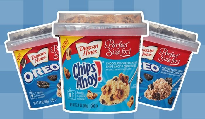 oreo and chips ahoy cake mix from duncan hines