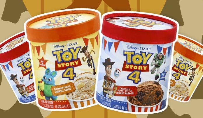 Edy's Drops 2 New Flavors to Celebrate Toy Story 4