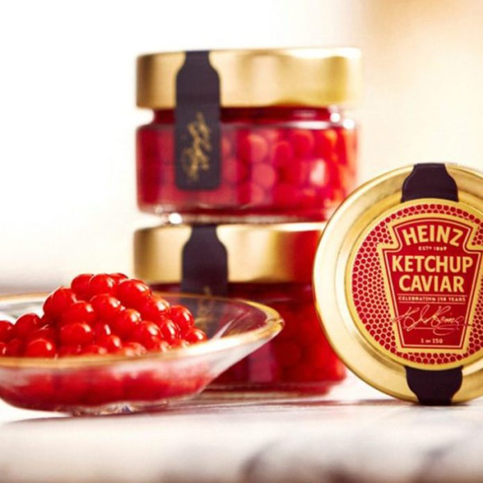 Ketchup Caviar Is Here and It Looks VERY Fancy