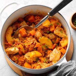 One-Pot Salsa Chicken