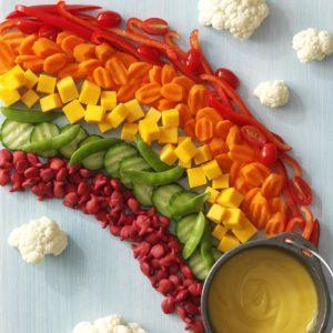 Rainbow Snack Platter