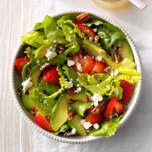 Strawberry-Avocado Tossed Salad