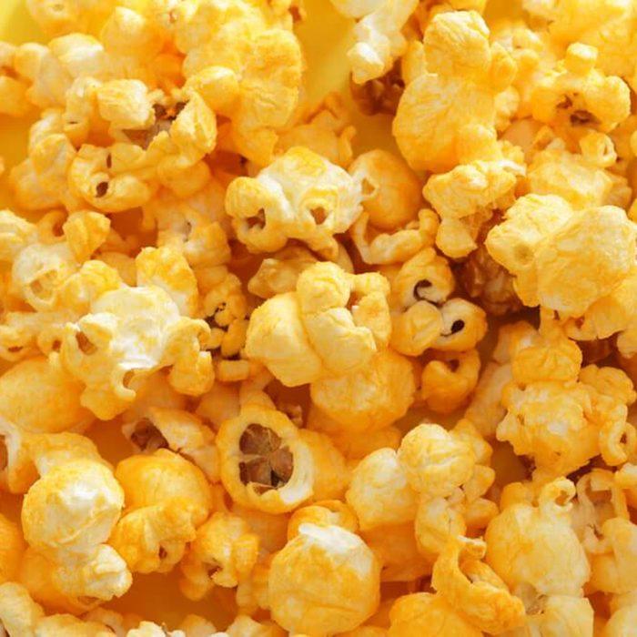 Flavored popcorn