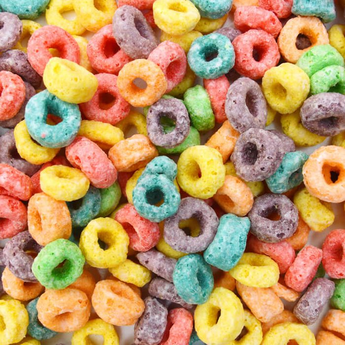 Fruit-flavored cereal