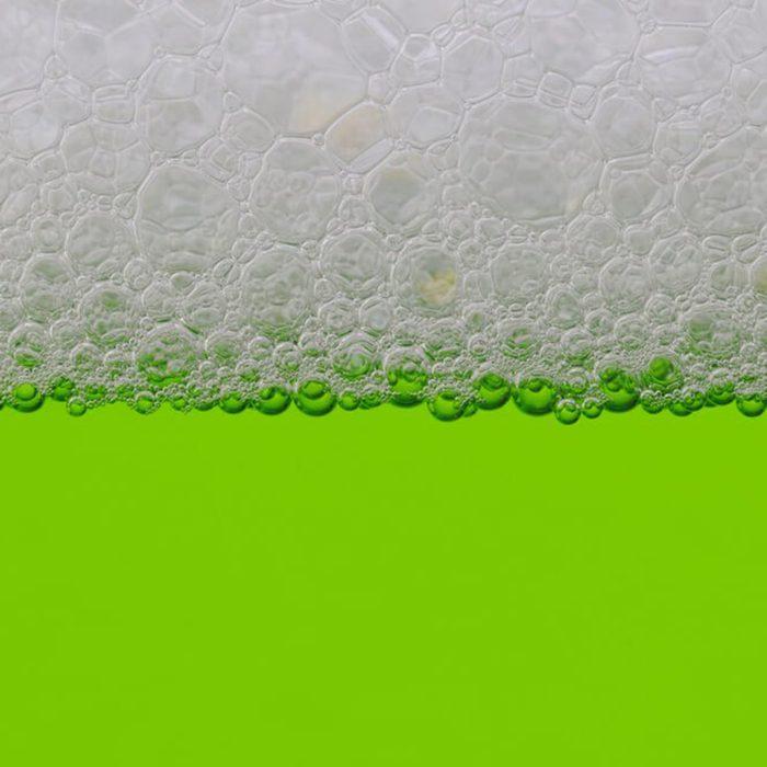 Bottled green tea