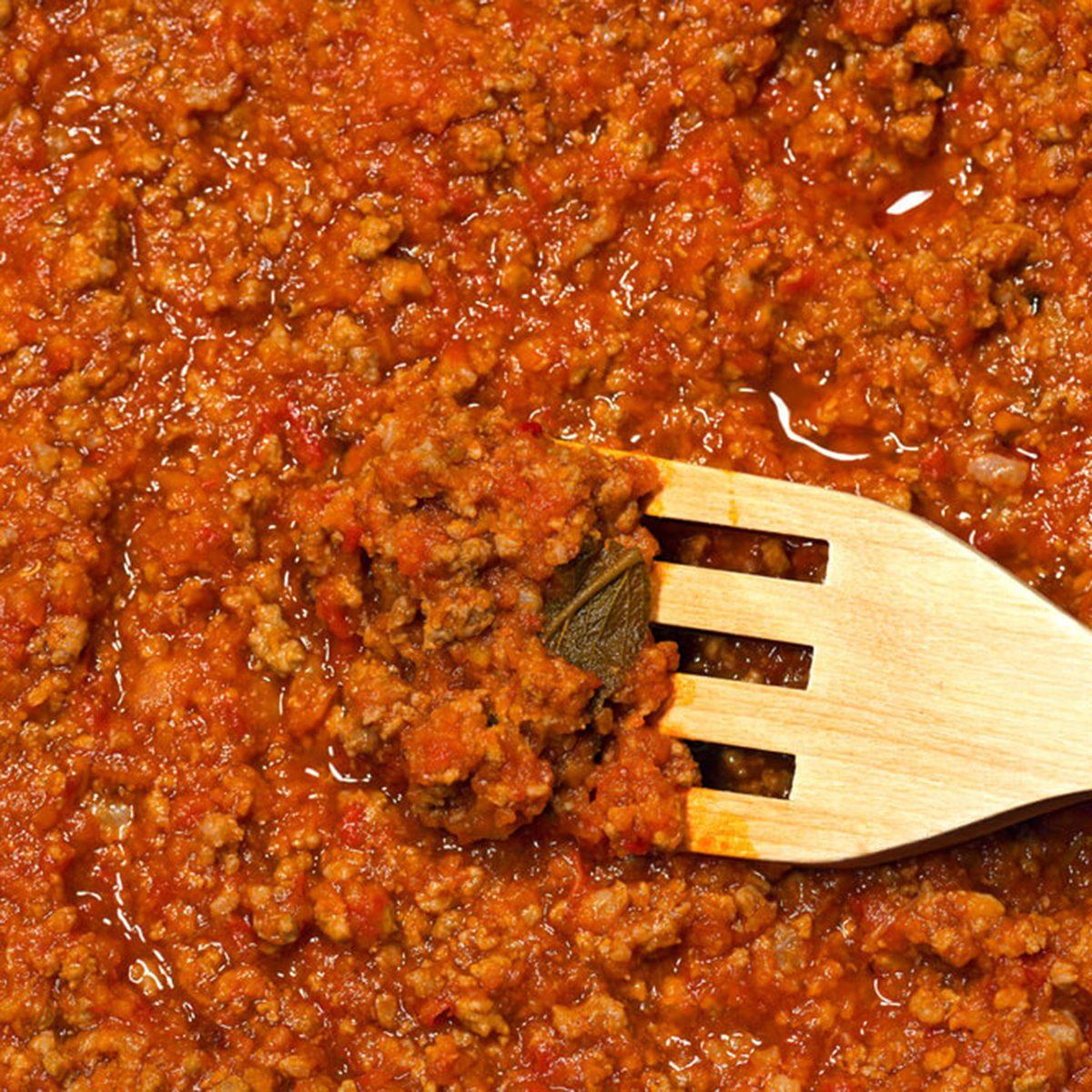 Jarred tomato sauce