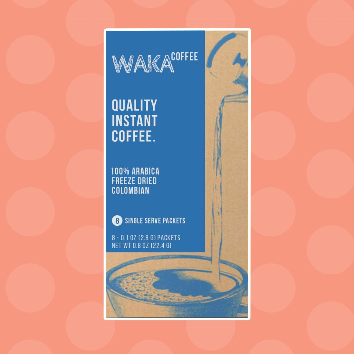 Waka Coffee Quality Instant Coffee