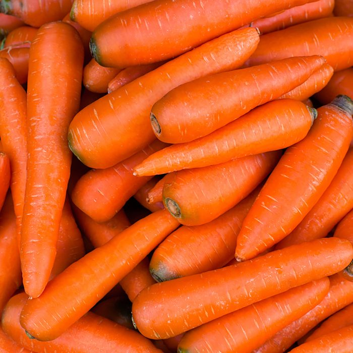 Organic carrot. Food background.