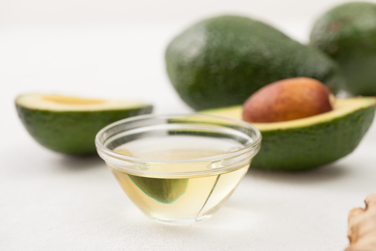 Avocado in cooking and preparing homemade cosmetics.