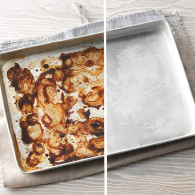 This Is Our Secret Weapon for Cleaning off Burned-on Food