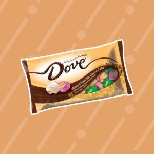 dove white chocolate carrot cake