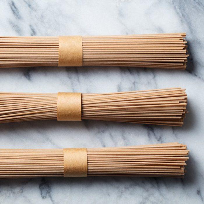 Dried long spaghetti