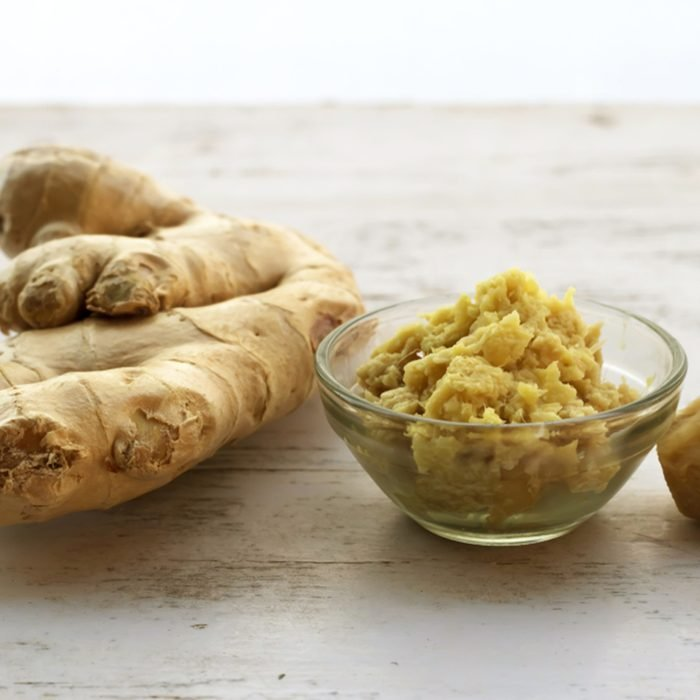 Image of Raw and crushed ginger