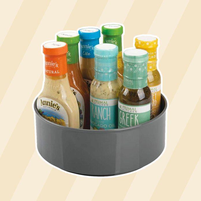 Mdesign Turntable Refrigerator Countertops Condiments