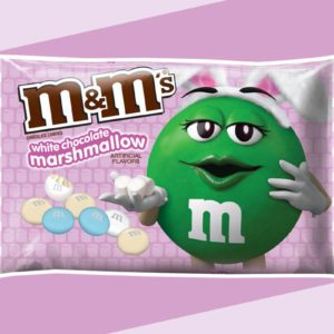 White Chocolate Marshmallow M&M's Are Here for Easter