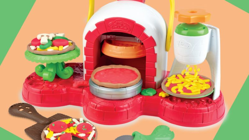 play-doh pizza