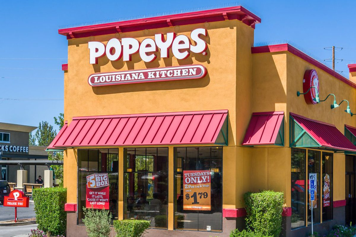 Apparently Popeyes Has Never Had A Chicken Sandwich, Until Now