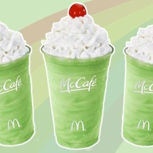 McDonald's Shamrock Shakes Are Back Early! Here's Where You Can Get Yours.