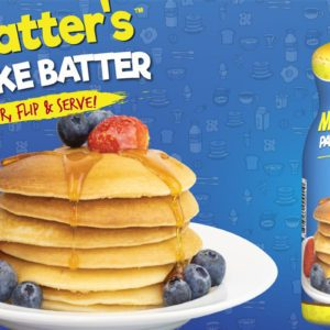 Shelf-Stable Pancake Batter You Can Pour Straight From the Bottle Now Exists