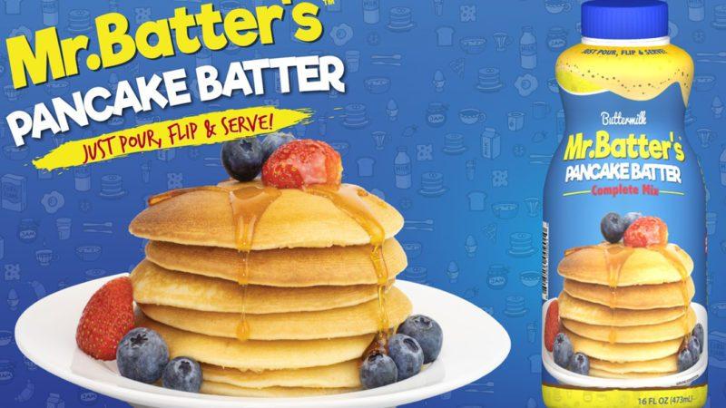 Shelf stable pancake batter